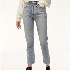 Agile Riley Straight Crop Jeans Size 24